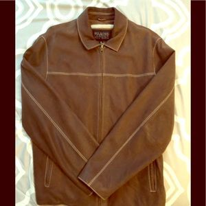 Men's Brown Wilson's Leather Jacket